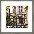 City Hall Gate Framed Print