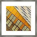 City Lines Framed Print