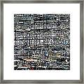City Park City Art Framed Print