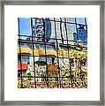 City Reflections By Diana Sainz Framed Print