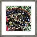 Cleanup In The Garden Framed Print