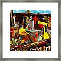 Clear Cut Framed Print by David Skrypnyk