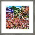 Clemson Tigers Memorial Stadium II Framed Print
