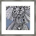 Close Up Owl Bubble Framed Print