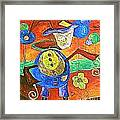 Clown 530-11-13 Marucii Framed Print