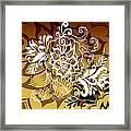 Coffee Flowers 10 Calypso Framed Print
