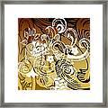 Coffee Flowers 8 Calypso Framed Print