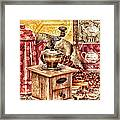Coffee Mill Framed Print