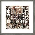 Coffee Of The Day 1 Framed Print by Debbie DeWitt