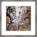 Coffeehouse Of The Mind Framed Print