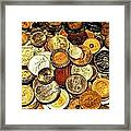 Coinage Framed Print