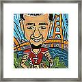 Colin Kaepernick - Achievement Framed Print