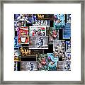 Collage Xmas Cards Horz Photo Art Framed Print