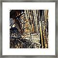 Collapse Framed Print