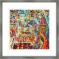Color Castle Framed Print