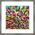 Color Explosion I Framed Print
