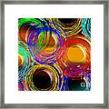 Color Frenzy 1 Framed Print by Andee Design