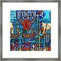 Color In Comerica Framed Print