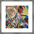 Color Portrait Framed Print by Juan Molina