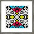 Color Symmetry 3 Framed Print