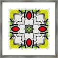 Color Symmetry  Framed Print