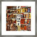 Colorado General Store Supplies Framed Print