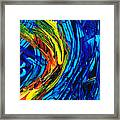 Colorful Abstract Art - Energy Flow 2 - By Sharon Cummings Framed Print
