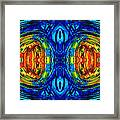 Colorful Abstract Art - Parallels - By Sharon Cummings  Framed Print