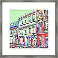 Colorful Buildings Framed Print