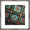 Colorful Church Ceiling Framed Print