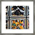 Colorful Contortion Framed Print