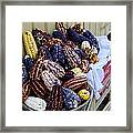 Colorful Corn Framed Print