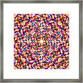 Colorful Digital Abstract Framed Print
