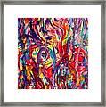 Colorful Expression-6 Framed Print