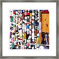 Colorful Floats Framed Print