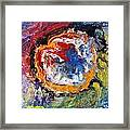 Colorful Happy Framed Print