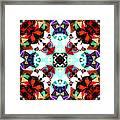 Colorful Kaleidoscope Creation Framed Print