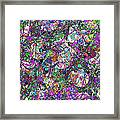 Colorful Lines Abstract Framed Print