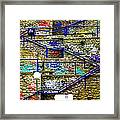 Colorful Steps Framed Print by Arie Arik Chen