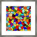 Colorful Visions Framed Print by Manu Singh