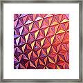 Colors Of Epcot Framed Print