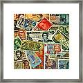 Colors Of Money Framed Print