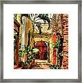 Colors Of Saint Thomas 1 Framed Print