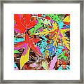 Coloured Leaves By M.l.d. Moerings  2009 Framed Print