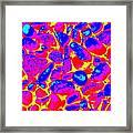Coloured Stones Framed Print