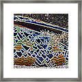 Colourful Crab Framed Print