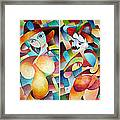 Man And Woman Framed Print