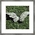Concrete Angel Framed Print