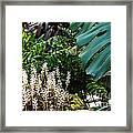 Conservatory Leaves Framed Print