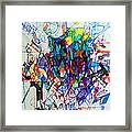 Construction Of Self 1 Framed Print by David Baruch Wolk